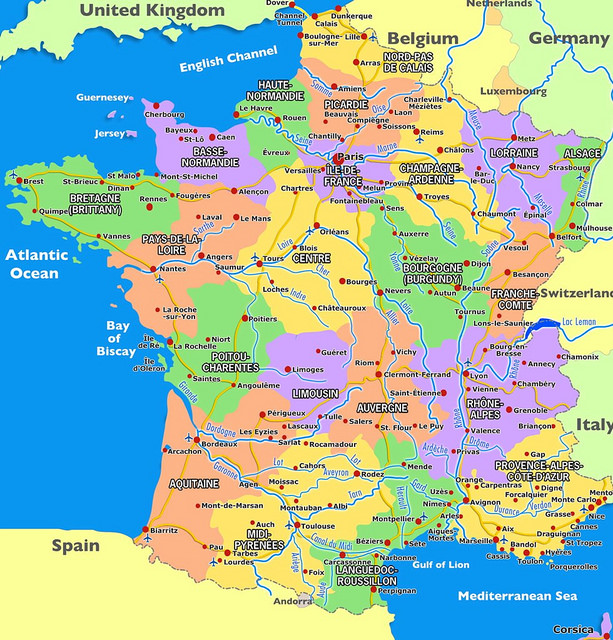 Map Of France Vendee Region.28 Regional Accents In France Be Aware Of It